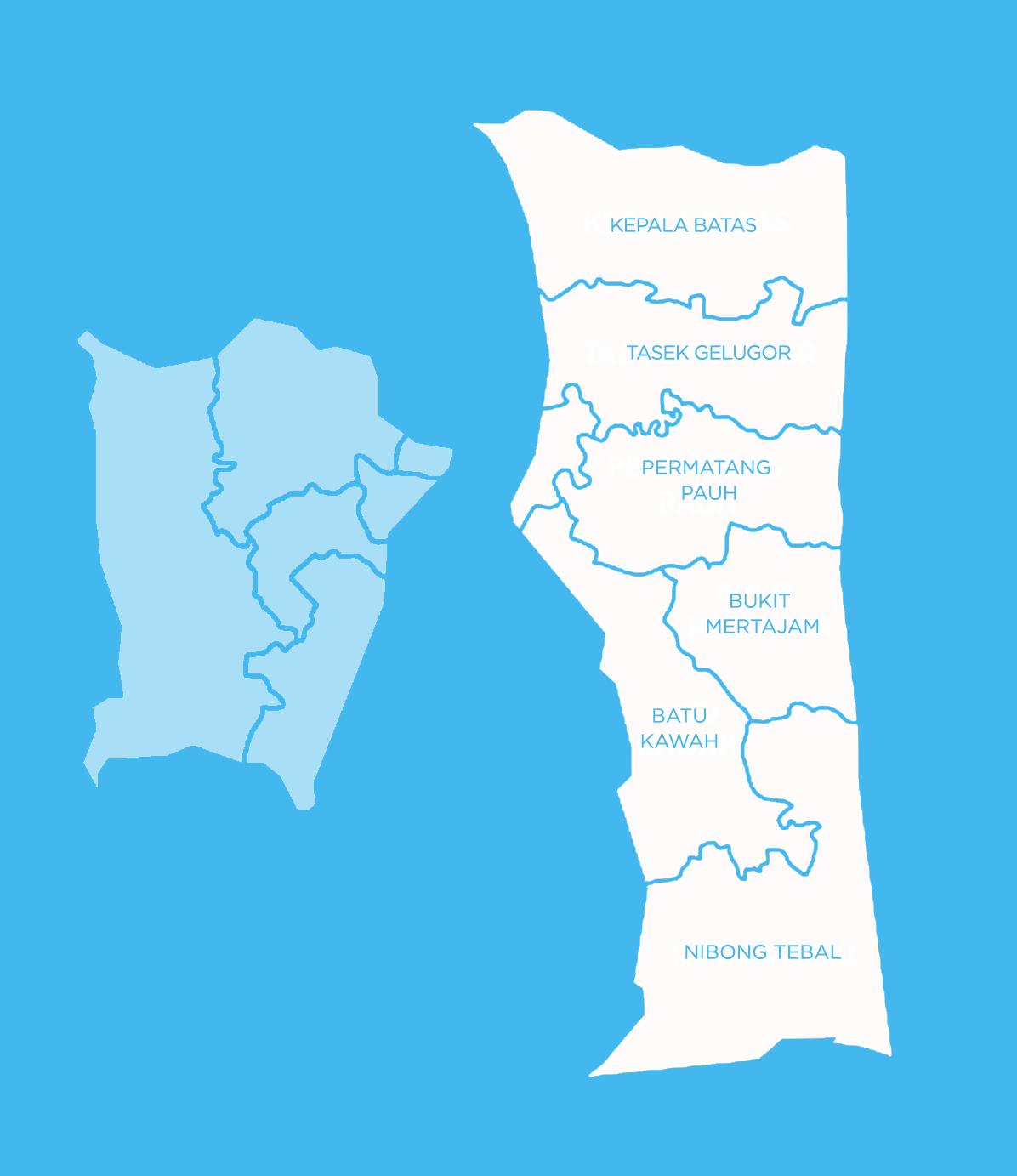 Koridor Utara : Pulau Pinang
